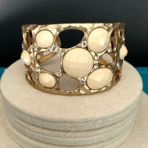 Jewelry - Bead and crystal cuff